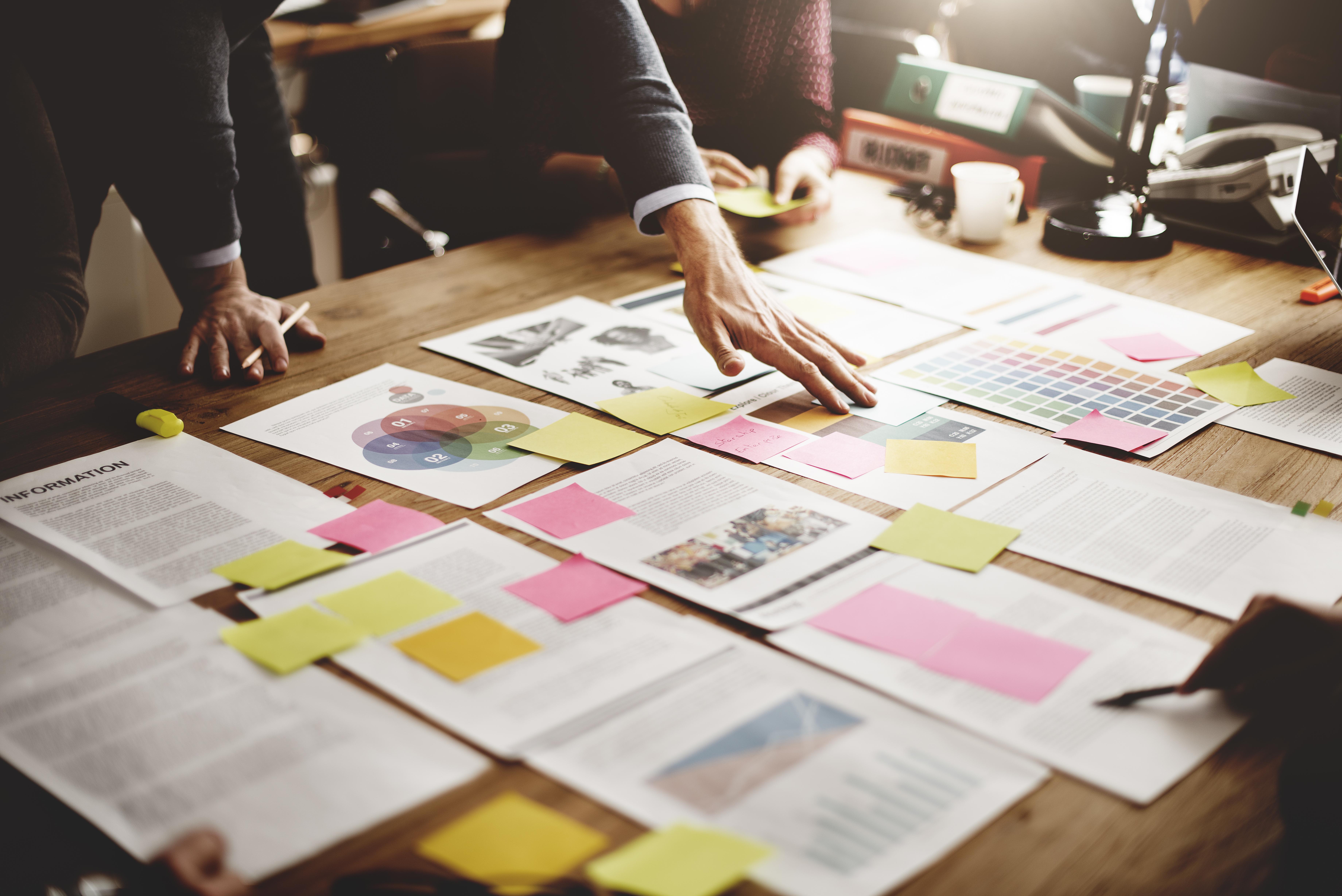 Planejando ações empresariais